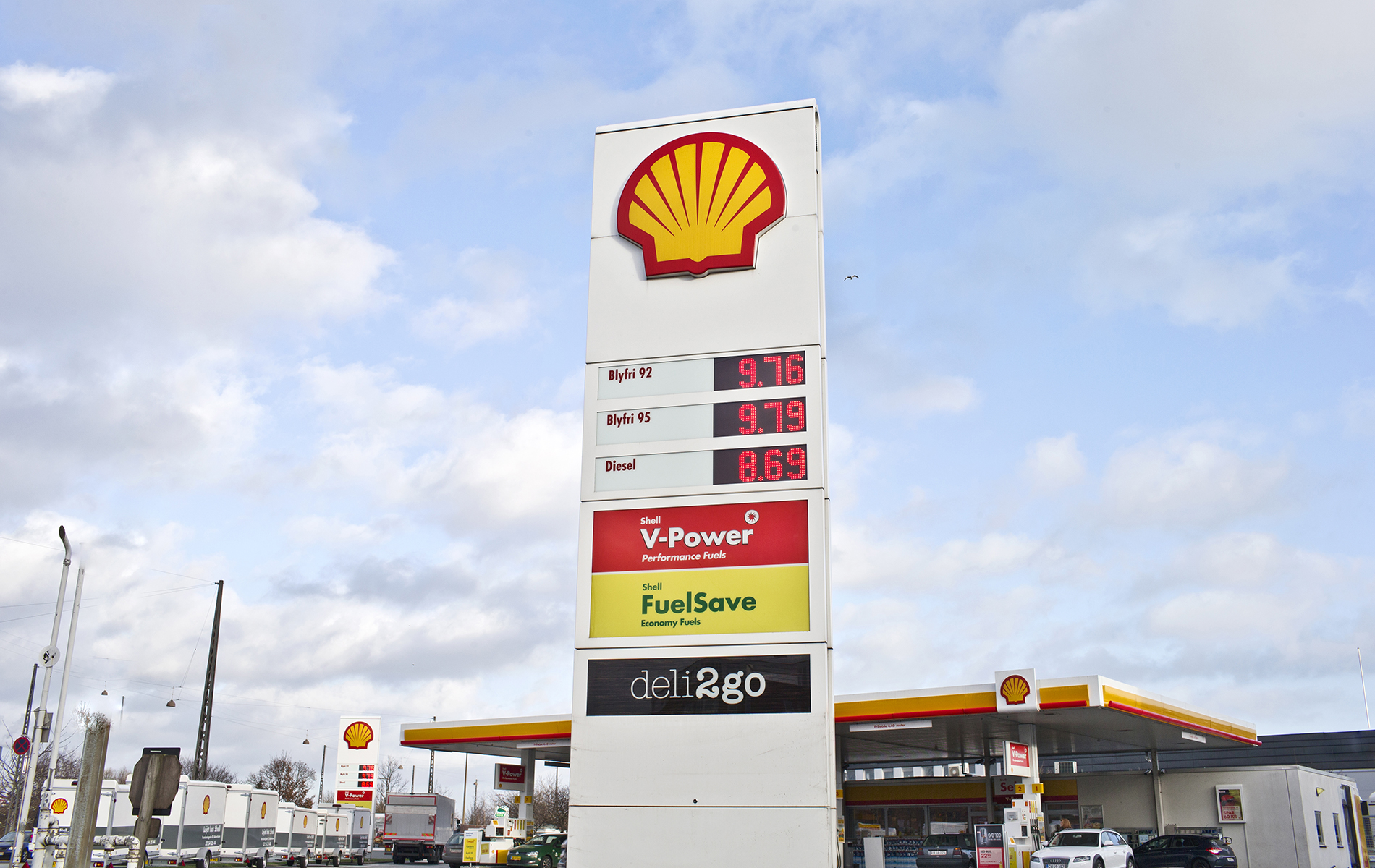 Find nærmeste Shell station